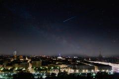 Αστέρι πυροβολισμού Στοκ εικόνες με δικαίωμα ελεύθερης χρήσης