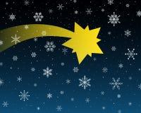 αστέρι της Βηθλεέμ διανυσματική απεικόνιση
