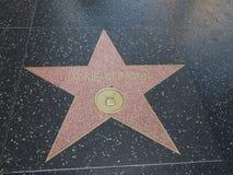 Αστέρι της Jackie Gleason στο hollywood Στοκ Εικόνες