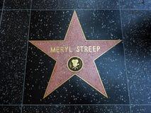 Αστέρι της Meryl Streep ` s, περίπατος Hollywood της φήμης - 11 Αυγούστου 2017 - λεωφόρος Hollywood, Λος Άντζελες, Καλιφόρνια, ασ στοκ φωτογραφία