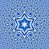 αστέρι του Δαβίδ ανασκόπησης Στοκ Εικόνες