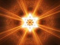 Αστέρι του Δαυίδ Στοκ φωτογραφίες με δικαίωμα ελεύθερης χρήσης