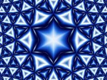 αστέρι του Δαβίδ ανασκόπησης Στοκ Φωτογραφίες