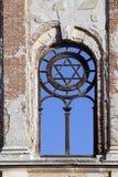 Αστέρι του Δαβίδ στη συναγωγή Στοκ Εικόνες