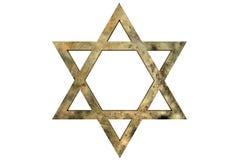αστέρι του Δαβίδ Στοκ Εικόνες
