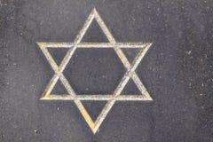 Αστέρι του Δαυίδ Στοκ Εικόνες