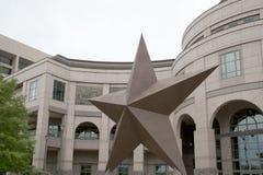 Αστέρι του Τέξας στοκ εικόνες με δικαίωμα ελεύθερης χρήσης