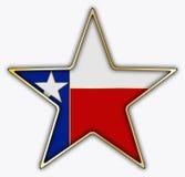 Αστέρι του Τέξας Στοκ Εικόνες