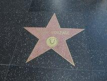 Αστέρι του Frank Borzage στο hollywood Στοκ Εικόνες