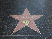 Αστέρι του William Frawley στο hollywood Στοκ Φωτογραφία