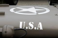 Αστέρι των ΗΠΑ Στοκ εικόνα με δικαίωμα ελεύθερης χρήσης
