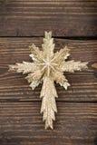 Αστέρι υποβάθρου Χριστουγέννων Στοκ φωτογραφίες με δικαίωμα ελεύθερης χρήσης