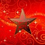 αστέρι φυλετικό Στοκ εικόνα με δικαίωμα ελεύθερης χρήσης
