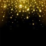 Αστέρι χαιρετισμού Στοκ εικόνα με δικαίωμα ελεύθερης χρήσης