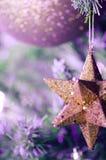 Αστέρι Χριστουγέννων - αφηρημένα χρώματα - που αποκόπτουν Στοκ Φωτογραφίες