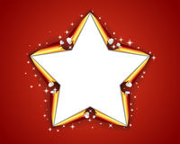 αστέρι Χριστουγέννων Στοκ Φωτογραφία
