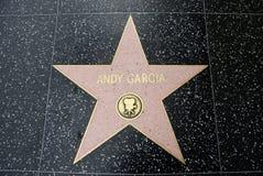 αστέρι Andy Garcia Στοκ Φωτογραφίες