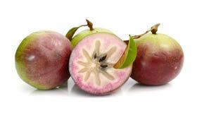 Αστέρι Apple, Chrysophyllum Cainito Στοκ Φωτογραφίες