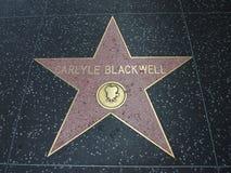 Αστέρι Blackwell Caryle στο hollywood Στοκ Φωτογραφία