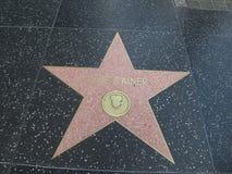 Αστέρι Rainer Luise στο hollywood Στοκ Εικόνα