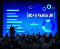 Ασταθής έννοια ασφάλειας ασφάλειας διαχείρησης κινδύνων Στοκ Εικόνα