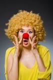 αστεία γυναίκα στοκ εικόνα με δικαίωμα ελεύθερης χρήσης