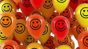 Αστεία κίνηση μπαλονιών επάνω φιλμ μικρού μήκους