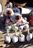 Αστεία κεραμικά statuettes Στοκ φωτογραφία με δικαίωμα ελεύθερης χρήσης