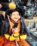 Αστεία μάγισσα pappet Στοκ φωτογραφίες με δικαίωμα ελεύθερης χρήσης