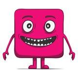 Αστεία μάγκα κύβων. Τετραγωνικός χαρακτήρας. Διάνυσμα Στοκ φωτογραφία με δικαίωμα ελεύθερης χρήσης