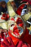 Αστεία μάσκα χαμόγελου, Βενετία, Ιταλία, Ευρώπη Στοκ Εικόνες