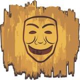αστεία μάσκα Στοκ Εικόνες