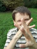 αστεία μύτη στοκ φωτογραφία με δικαίωμα ελεύθερης χρήσης