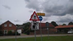Αστεία οδικά σημάδια Στοκ εικόνα με δικαίωμα ελεύθερης χρήσης