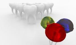 Αστεία οδοντιατρική Στοκ φωτογραφίες με δικαίωμα ελεύθερης χρήσης