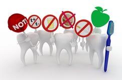 Αστεία οδοντιατρική Στοκ Φωτογραφίες