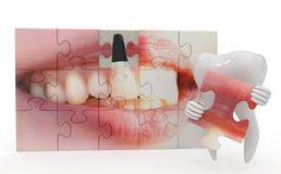 Αστεία οδοντιατρική Στοκ φωτογραφία με δικαίωμα ελεύθερης χρήσης
