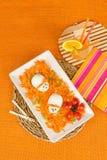 Αστεία σαλάτα καρότων Στοκ Εικόνες