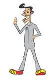 Αστεία σειρά 04 χαρακτήρα Στοκ φωτογραφία με δικαίωμα ελεύθερης χρήσης