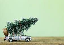 Αστεία σύνθεση Χριστουγέννων Στοκ Εικόνες