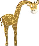 αστεία giraffe απεικόνιση Στοκ Φωτογραφία