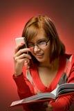 αστεία redhead γυναίκα στοκ εικόνα με δικαίωμα ελεύθερης χρήσης
