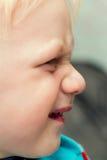 Αστείοι μορφασμοί μωρών Στοκ εικόνα με δικαίωμα ελεύθερης χρήσης