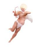 Αστείος άγγελος με το βέλος Στοκ Εικόνα