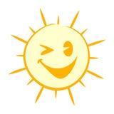 αστείος ήλιος Στοκ εικόνα με δικαίωμα ελεύθερης χρήσης