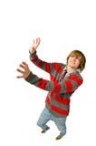 Αστείος βλαστός fisheye του νεαρού άνδρα Στοκ εικόνα με δικαίωμα ελεύθερης χρήσης