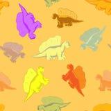 Αστείος δεινόσαυρος για τα παιδιά Στοκ Εικόνες