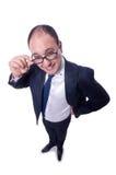 Αστείος επιχειρηματίας Στοκ Φωτογραφία