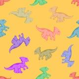 Αστείος και εύθυμος δεινόσαυρος Στοκ Εικόνες