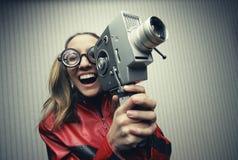Αστείος κινηματογράφος Στοκ Εικόνες